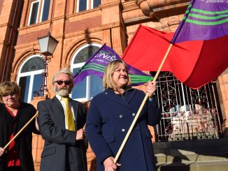 Keeping the red flag flying in Merthyr