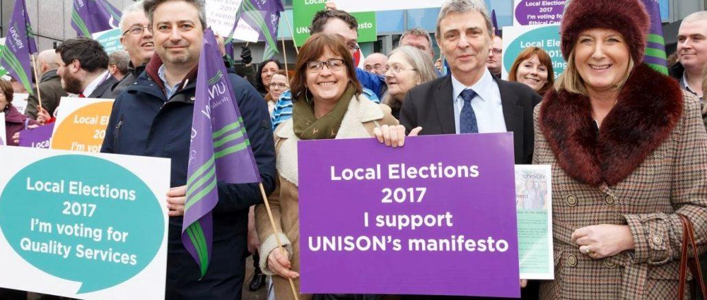 Local Governmnet election manifesto launch Cardiff