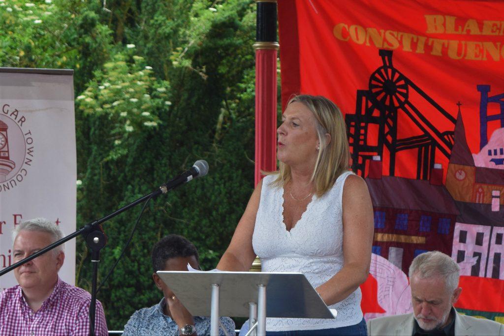 UNISON Cymru Wales Regional Secretary Margaret Thomas